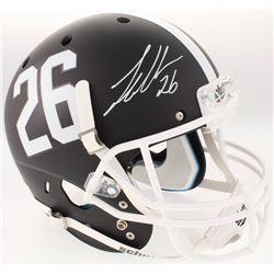 Landon Collins Signed Alabama Crimson Tide Full-Size Custom Matte Black Helmet (Radtke COA)