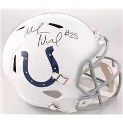 Marlon Mack Signed Indianapolis Colts Full-Size Speed Helmet (Schwartz Sports COA)