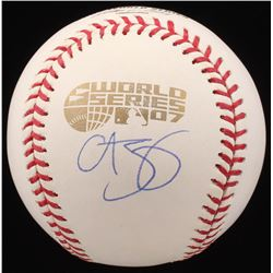 Curt Schilling Signed 2007 World Series Baseball (Steiner COA)