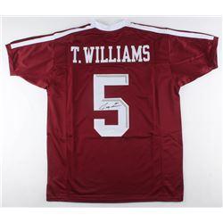Trayveon Williams Signed Jersey (JSA COA)