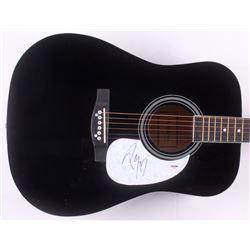 "Post Malone Signed 38"" Acoustic Guitar (PSA COA)"