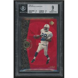 1996 SP #18 Marvin Harrison RC (BGS 9)