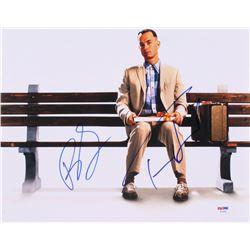 "Tom Hanks  Robin Wright Signed ""Forrest Gump"" 11x14 Photo (PSA LOA)"