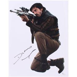 "Diego Luna Signed ""Rogue One: A Star Wars Story"" 11x14 Photo (JSA COA)"