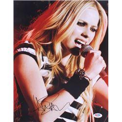 Avril Lavigne Signed 11x14 Photo (PSA COA)