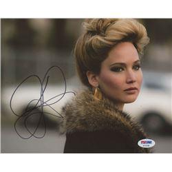 "Jennifer Lawrence Signed ""American Hustle"" 11x14 Photo (PSA COA)"