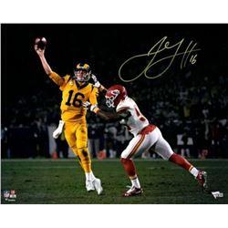 Jared Goff Signed Los Angeles Rams 16x20 Photo (Fanatics Hologram)