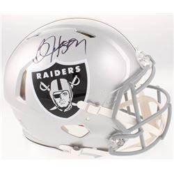 Bo Jackson Signed Oakland Raiders Full-Size Authentic On-Field Speed Helmet (Radtke COA  Jackson Hol