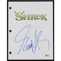 Eddie Murphy  Signed  Shrek  Full Movie Script (Beckett COA)