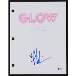 "Alison Brie Signed ""Glow"" Pilot Script (Beckett COA)"