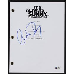 Charlie Day Signed  It's Always Summy In Philadelphia  Television Script (Beckett COA)