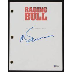 Martin Scorsese Signed  Raging Bull  Movie Script (Beckett COA)