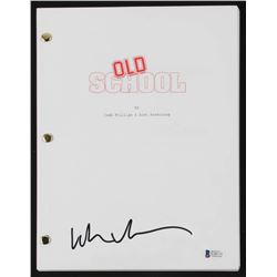 Luke Wilson Signed  Old School  Full Movie Script (Beckett COA)