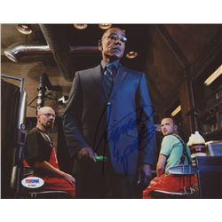 Giancarlo Esposito Signed  Breaking Bad  8x10 Photo (PSA COA)