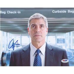 George Clooney Signed 8x10 Photo (PSA COA)