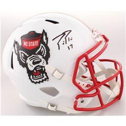 Philip Rivers Signed NC State Wolfpack Full-Size Speed Helmet (Radtke COA)