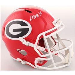 Deandre Baker Signed Georgia Bulldogs Full-Size Speed Helmet (Radtke COA)