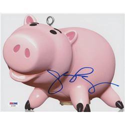"John Ratzenberger Signed ""Toy Story"" 8x10 Photo (PSA COA)"