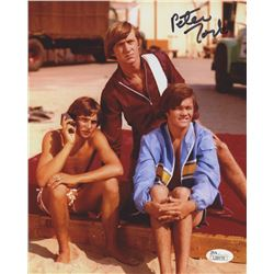 Peter Tork Signed 8x10 Photo (JSA COA)