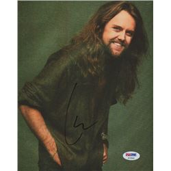 Lars Ulrich Signed 8x10 Photo (PSA COA)