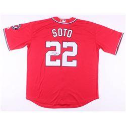 Juan Soto Signed Washington Nationals Jersey (JSA COA)