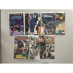 """Lot of (11) 1967-1969 """"Detective"""" 1st Series DC Comic Books with #0, #366, #370, #379, #381, #390, #"""