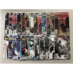 """Lot of (49) 1998-2007 """"Detective Comics"""" 1st Series DC Comic Books from #725-835"""