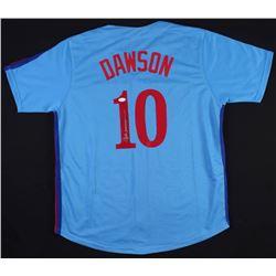 Andre Dawson Signed Jersey (JSA COA)