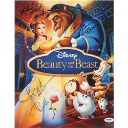 "Paige O'Hara, Richard White,  Robby Benson Signed ""Beauty and the Beast"" 11x14 Photo Inscribed ""Bell"