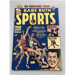 "1951 ""Babe Ruth"" Issue #11 Sports Comics Comic Book"