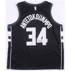 Giannis Antetokounmpo Signed Milwaukee Bucks Authentic Nike Jersey (JSA COA)