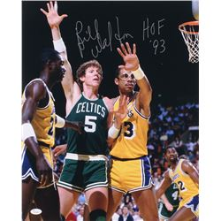"Bill Walton Signed Boston Celtics 16x20 Photo Inscribed ""HOF 93"" (JSA COA)"