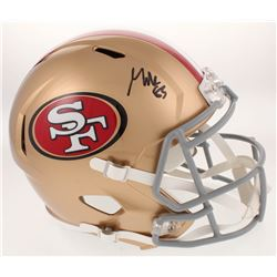 George Kittle Signed San Francisco 49ers Full-Size Speed Helmet (Radtke COA)