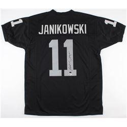 Sebastian Janikowski Signed Jersey (Beckett COA  GTSM Hologram)