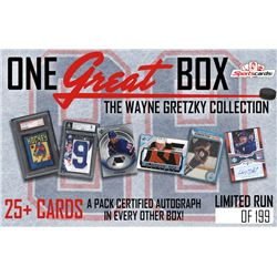 """One GREAT Box"" Wayne Gretzky Ultimate Card Collection Mystery Box – 25 Cards Per Box!"