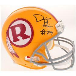 Derrius Guice Signed Washington Redskins Throwback Full-Size Authentic On-Field Helmet (Radtke COA)