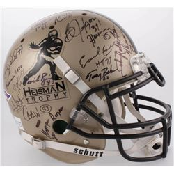Heisman Trophy Full-Size Authentic On-Field Helmet Signed by (30) with Cam Newton, Tim Tebow, Paul H