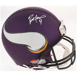 Brett Favre Signed Minnesota Vikings Full-Size Authentic On-Field Helmet (Favre COA)