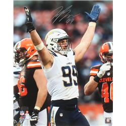 Joey Bosa Signed Los Angeles Chargers 16x20 Photo (Radtke COA)