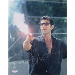 "Jeff Goldblum Signed ""Jurassic Park"" 11x14 Photo (PSA COA)"