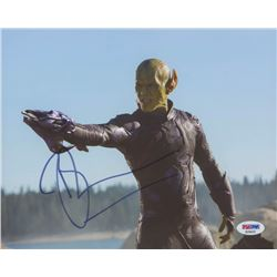 "Ben Mendelsohn Signed ""Captain Marvel"" 8x10 Photo (PSA COA)"