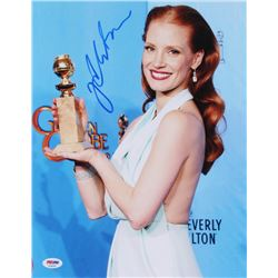 Jessica Chastain Signed 11x14 Photo (PSA COA)