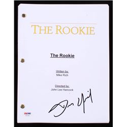 "Dennis Quaid Signed ""The Rookie"" Full Script (PSA COA)"