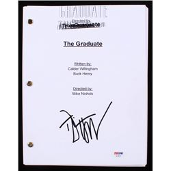 "Dustin Hoffman Signed ""The Graduate"" Full Movie Script (PSA COA)"
