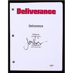 "Jon Voight Signed ""Deliverance"" Full Movie Script (PSA COA)"