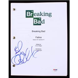 "Bob Odenkirk Signed ""Breaking Bad: Felina"" Episode Full Script (PSA COA)"