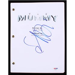 "Sofia Boutella Signed ""The Mummy"" Movie Script (PSA COA)"