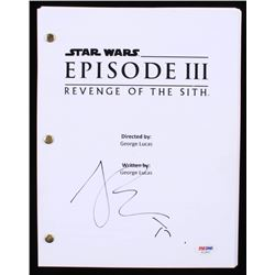 "Joel Edgerton Signed ""Star Wars: Episode III-Revenge of the Sith"" Full Script (PSA COA)"