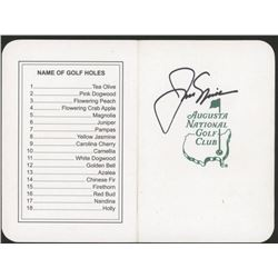 "Jack Nicklaus Signed ""Masters"" Augusta National Golf Club Scorecard (JSA COA)"