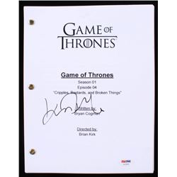 "John Bradley Signed ""Game of Thrones: Cripples, Bastards,  Broken Things"" Full Episode Script (PSA C"